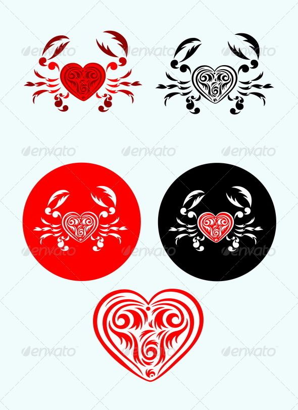 GraphicRiver Crab Love 7886430