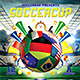 Soccer Cup 2014 Flyer Poster Template - GraphicRiver Item for Sale