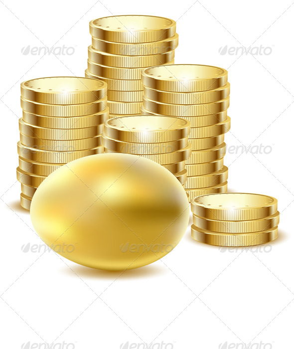 GraphicRiver Gold Coins 7886733