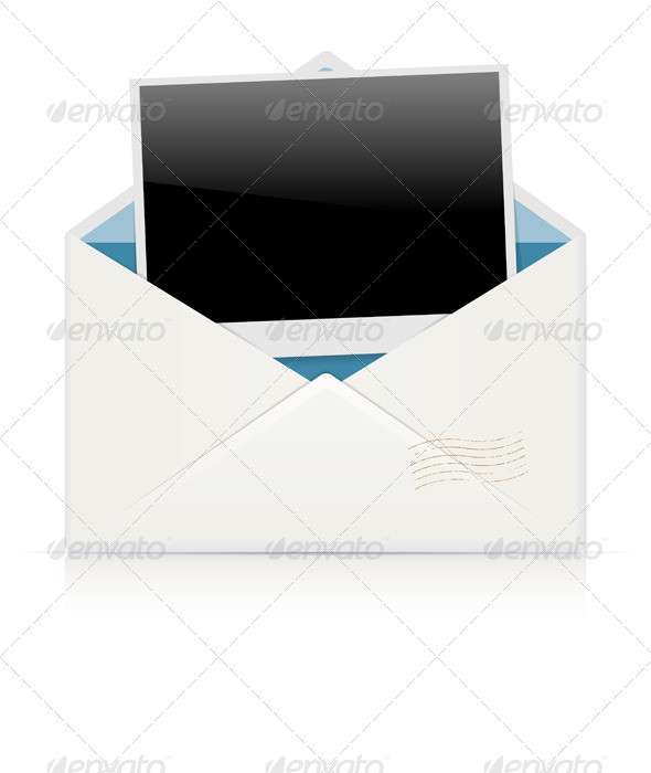 GraphicRiver Photo in the Envelope 7886742
