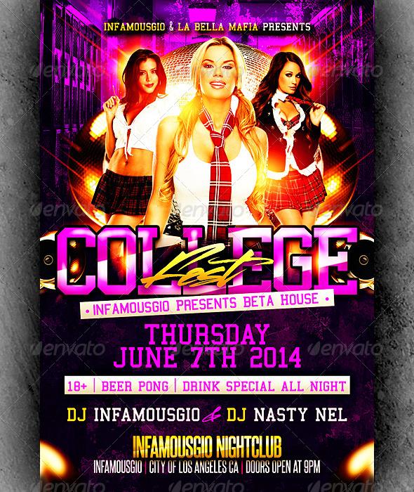 College Flyer 2