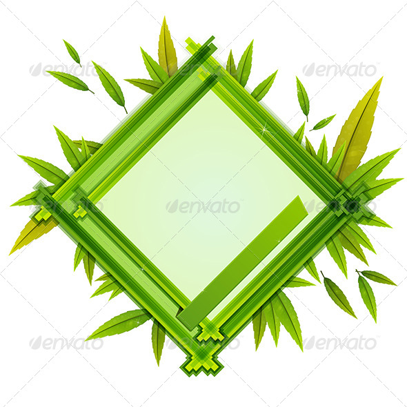 GraphicRiver Foliage Frame 7887341
