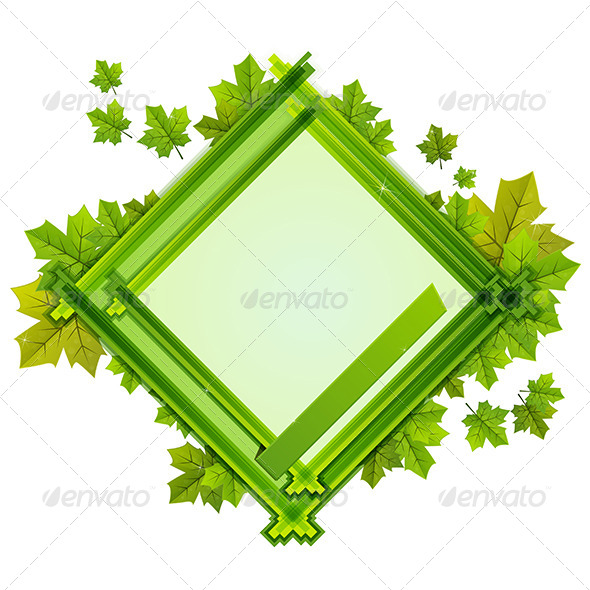 GraphicRiver Foliage Frame 7887346