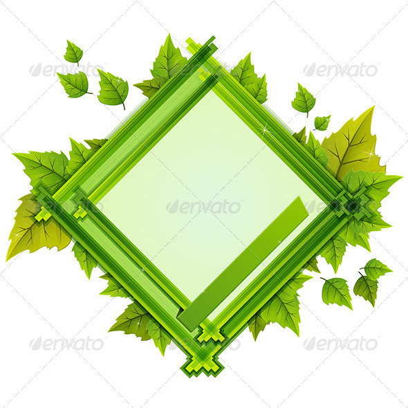 GraphicRiver Foliage Frame 7887373
