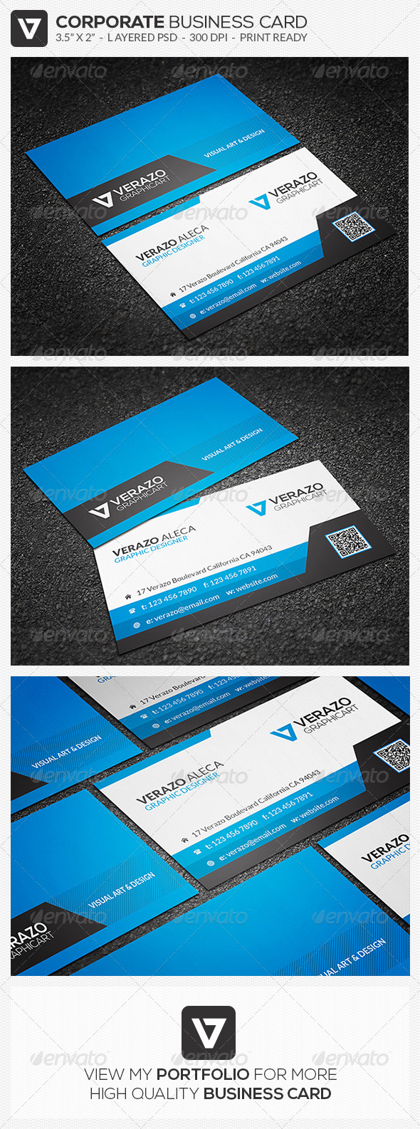 GraphicRiver Stylish Business Card 39 7887375