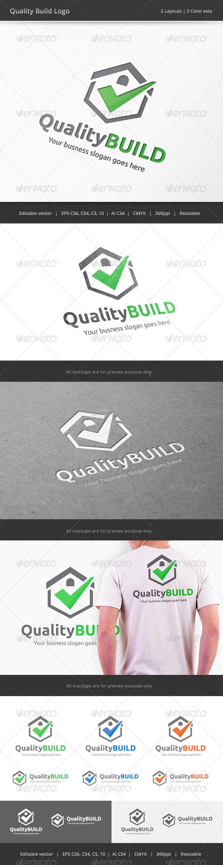 GraphicRiver Quality Build House Logo 7887614