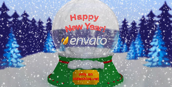 After Effects Project - VideoHive New Year & Christmas Snow Ball 805575