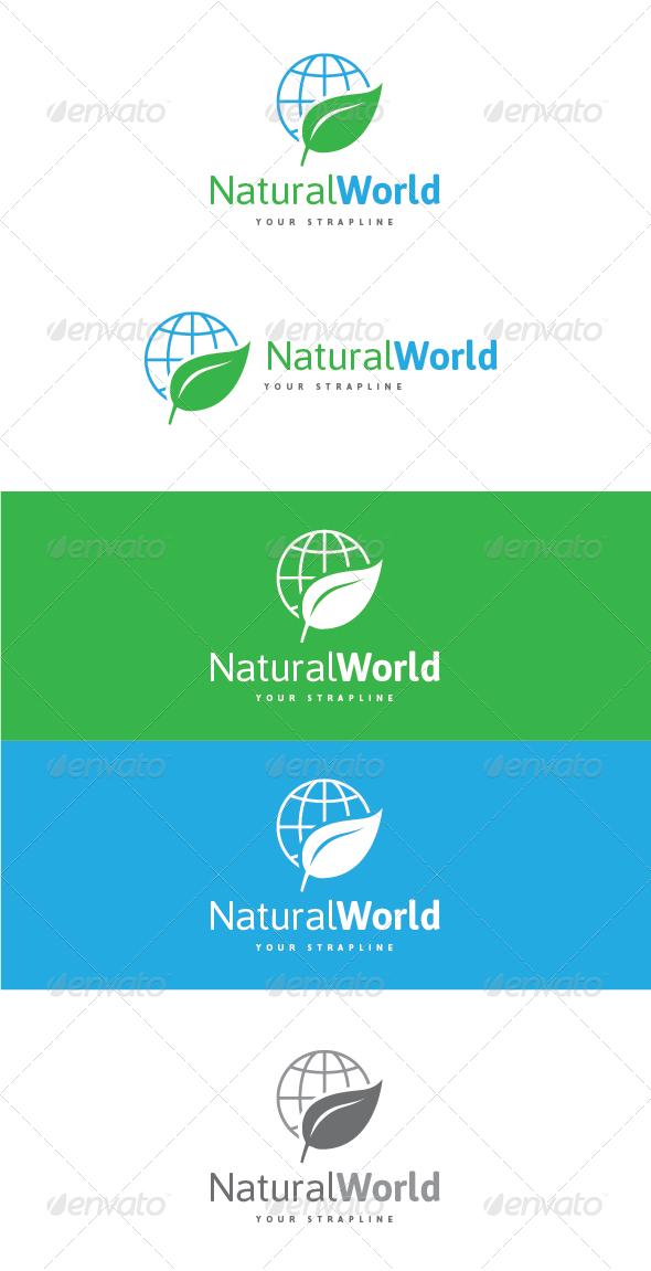 GraphicRiver Natural World Logo 7888129