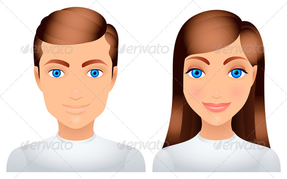 GraphicRiver Man and Woman 7888141