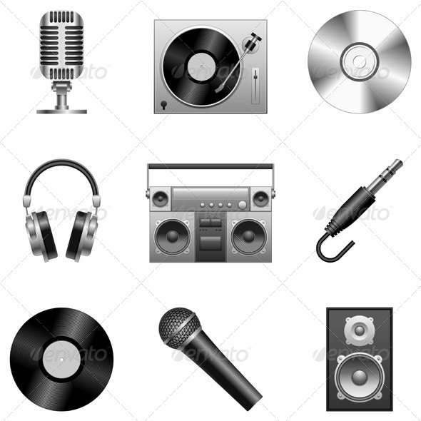 GraphicRiver Music Equipment 7888145