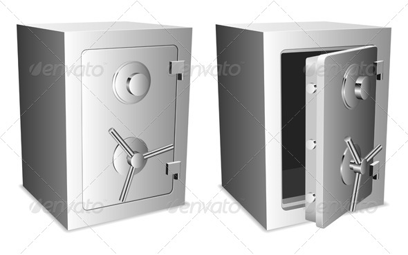 GraphicRiver Metal Safe 7888159