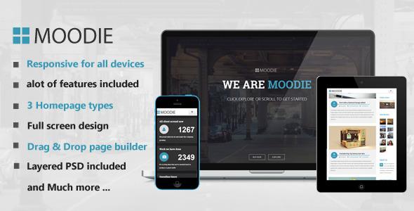ThemeForest Moodie Multi-Purpose WordPress Theme 7888247