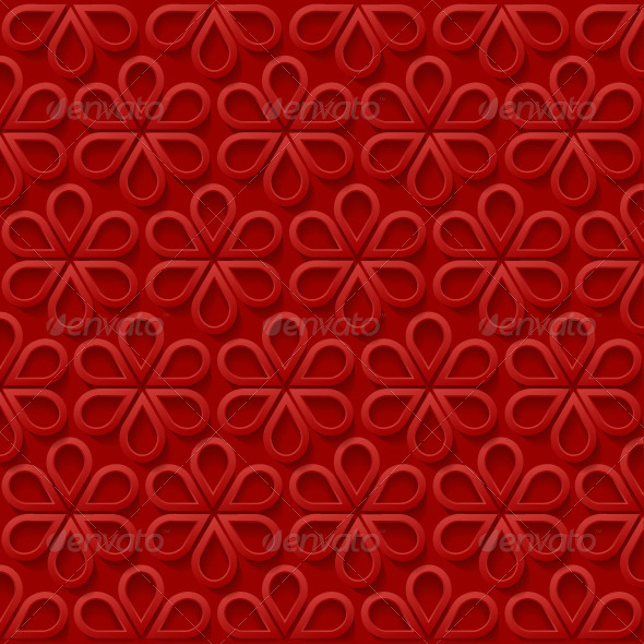 GraphicRiver Abstract Simple Floral Background 7888260