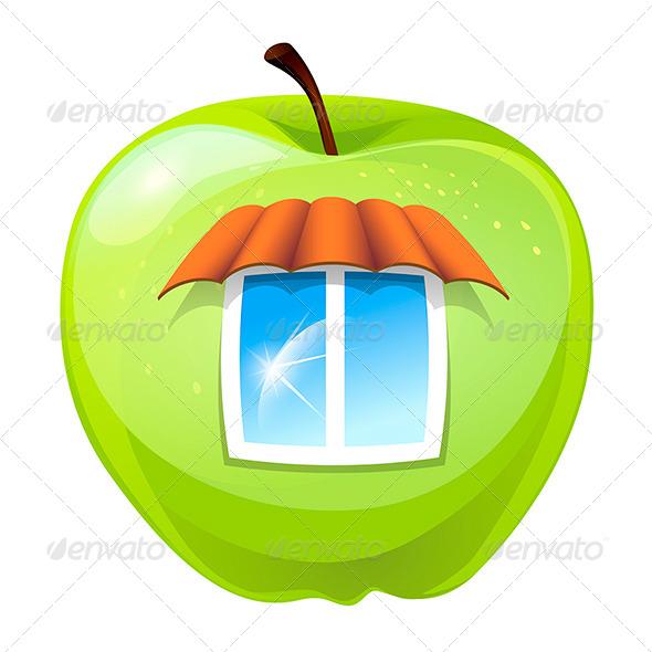 GraphicRiver The Apple Hut 7888557