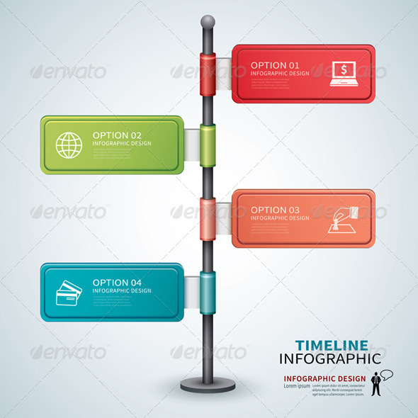 GraphicRiver Timeline Template Infographic 7888568