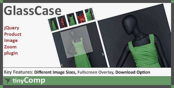CodeCanyon GlassCase jQuery Product Image Zoom plugin 7843419