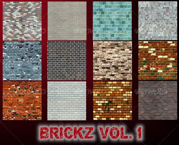 BRICKZ VOLUME 1 -TTD - Stone Textures