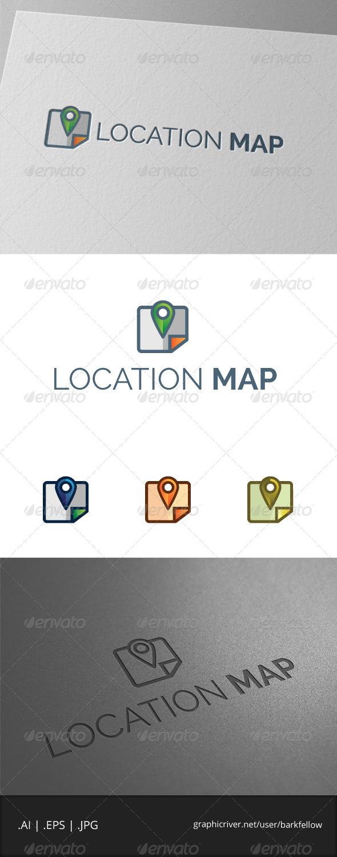 GraphicRiver Location Map Logo 7889112
