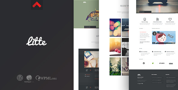 Litte - Multipurpose WordPress Theme - Screenshot 1. Preview Image.