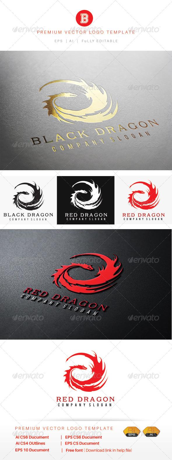 GraphicRiver The Dragon 7889235