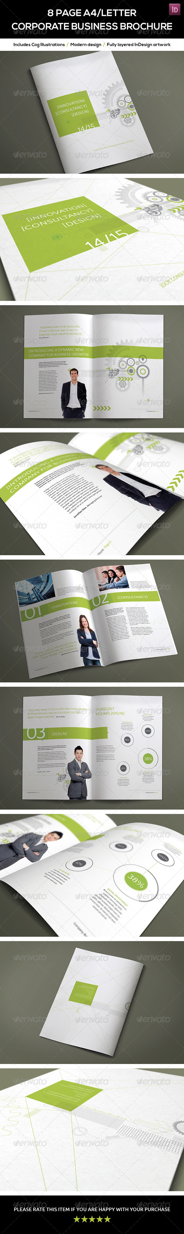 GraphicRiver 8 Page A4 Letter Corporate Business Brochure 7889872
