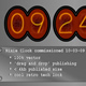 Nixie Tube Clock Widget - ActiveDen Item for Sale