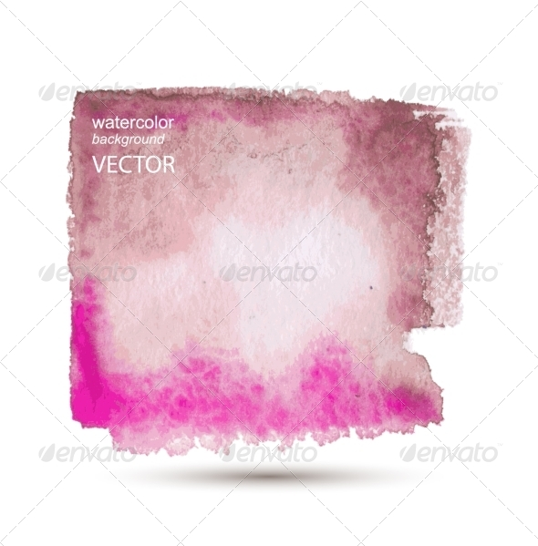 GraphicRiver Abstract Watercolor Hand Painted Background 7890313