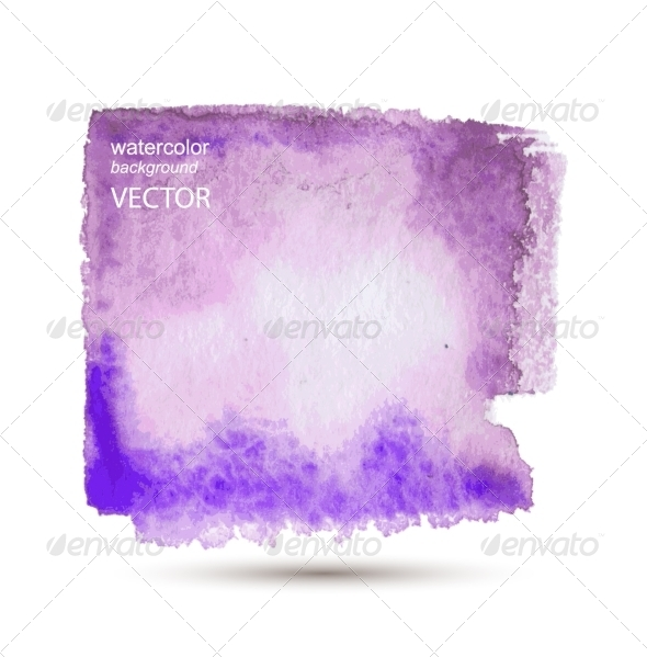 GraphicRiver Abstract Watercolor Hand Painted Background 7890317