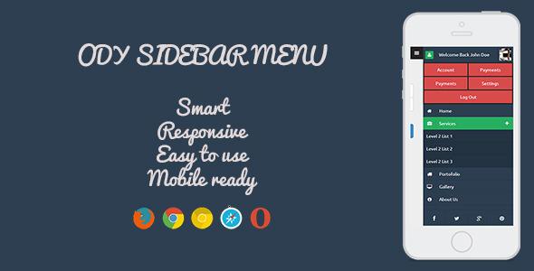 CodeCanyon ODY Sidebar Menu 7890336