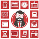 Icons set Business day - GraphicRiver Item for Sale