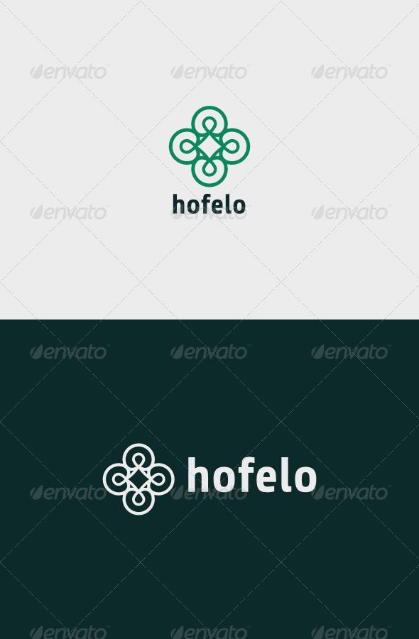 Hotel Hofelo Logo - Vector Abstract