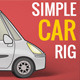 Simple Car Rig - VideoHive Item for Sale