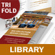 Library Trifold Brochure - GraphicRiver Item for Sale