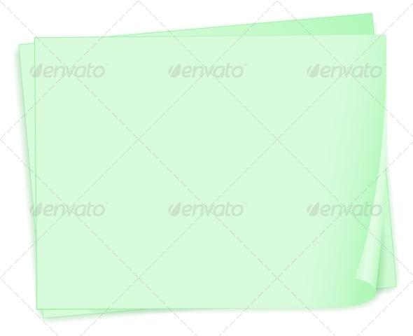 GraphicRiver Empty paper template 7891852