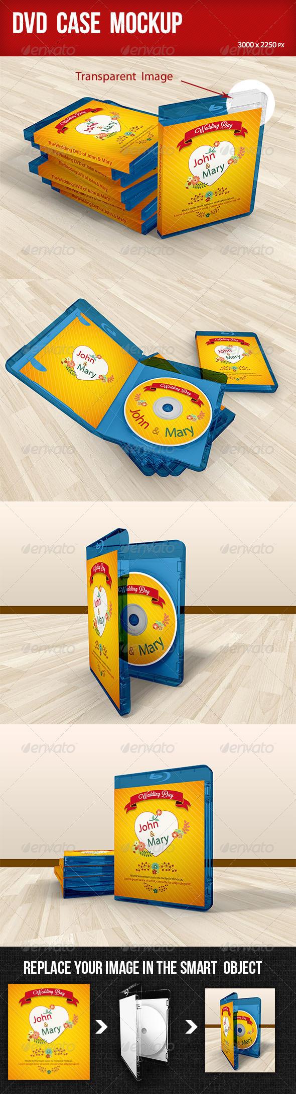 GraphicRiver DVD Case Mockup 7892099