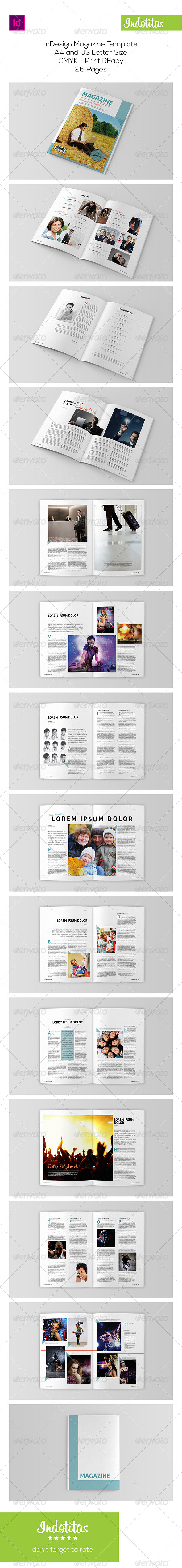 GraphicRiver Indesign Magazine Template 7892152