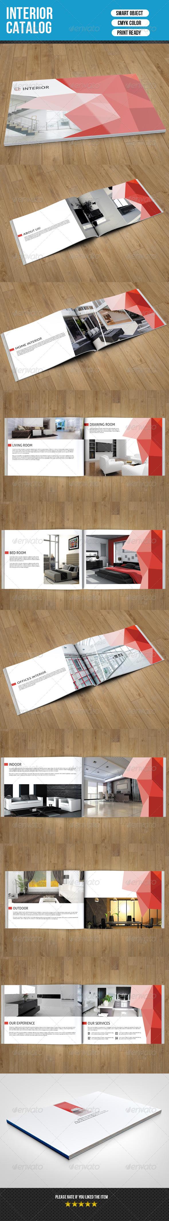 GraphicRiver Interior Catalog Template-V08 7870444