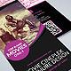 Movie Theater Cinema Hall Tri-Fold Brochure - GraphicRiver Item for Sale