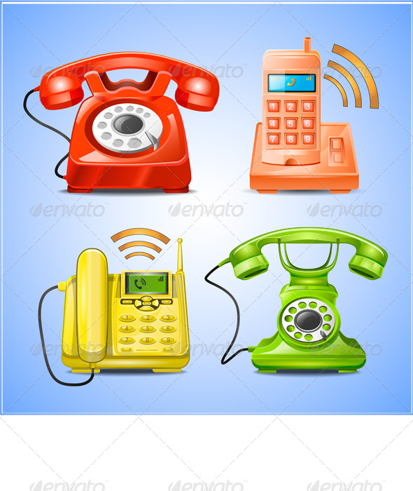 GraphicRiver Phone Icons 7892353