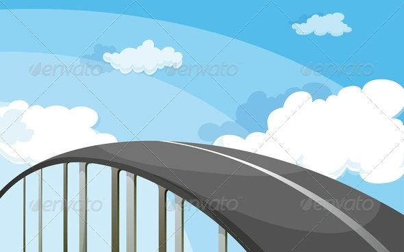 GraphicRiver Highway Scene 7892402