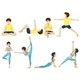 Yoga Poses - GraphicRiver Item for Sale