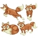 Four Foxes - GraphicRiver Item for Sale