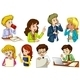 Eight Office Workers - GraphicRiver Item for Sale