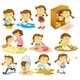 Girl's Daily Activities - GraphicRiver Item for Sale
