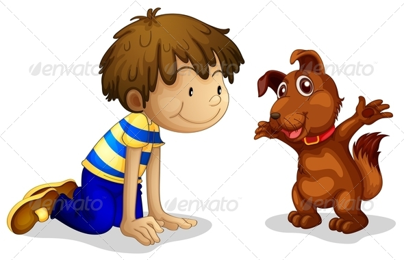GraphicRiver Boy and his Dog 7892700