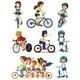 People Biking - GraphicRiver Item for Sale