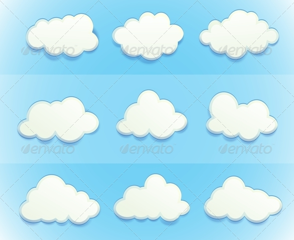 GraphicRiver Clouds in the Sky 7892987