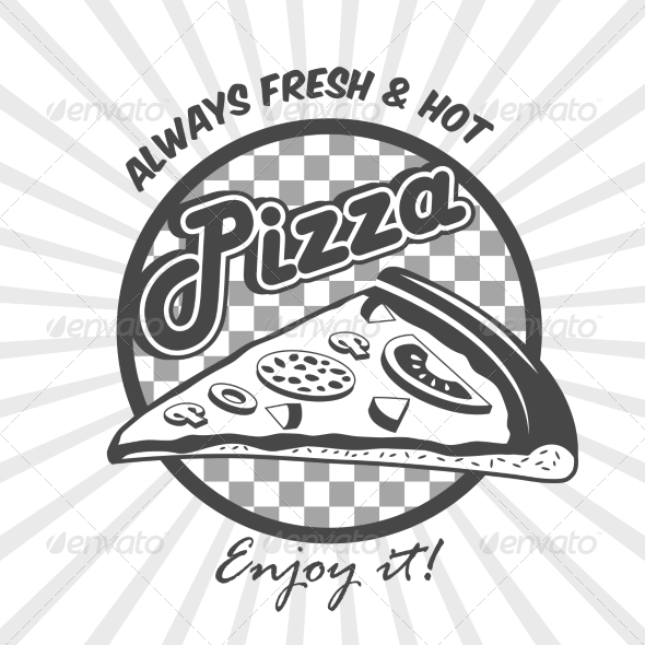 GraphicRiver Pizza Slice Advertising Poster 7893088