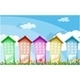 Tall Colorful Buildings - GraphicRiver Item for Sale