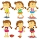 Young Girl Set - GraphicRiver Item for Sale